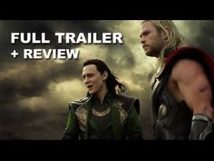 Thor The Dark World Official Trailer 2 ~ Chris Hemsworth, Natalie Portman, Anthony Hopkins. Rated PG-13 for sequences of intense sci-fi action and violence, and some suggestive content  I don't typically watch such movies, but, come on, Chris Hemsworth was in it...need I say more?  I give it 6 stars out of 10 because it was fun :))