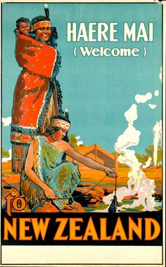[New Zealand] - Haere Mai / Welcome. Welcome to the land of long white cloud...........