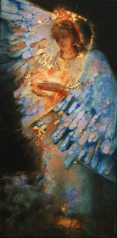 Angel Pictures, Jesus Pictures, Angel Artwork, I Believe In Angels, Angels Among Us, Art Abstrait, Christian Art, Les Oeuvres, Illustrators