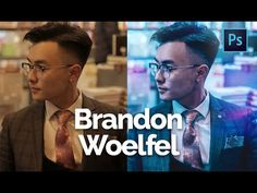 How to Edit Like Brandon Woelfel 4 in Photoshop CC | Color Grading Tutorial | With Asset Files - YouTube