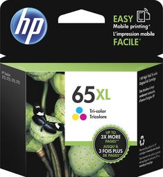 HP - 65XL High-Yield Ink Cartridge - Multicolor