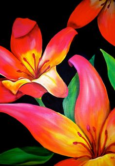Tropical Punch Painting - Tropical Punch Fine Art Print