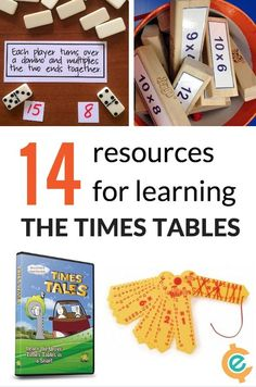 14 Resources to Learn Times Tables | The Jenny Evolution