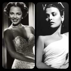 """Lena Horne often referred to Dorothy as """"OUR Marilyn Monroe"""". Dorothy and Lena occasionally saw each other at an after hours joint called Brother's. While they were always friendly, the two black goddesses would never become close friends. They were constantly compared, and Dorothy hated that. Our World, a national black publication, ran a feature titled """"Dorothy Dandridge Learns to Dance."""" This article stated """"she [Dorothy Dandridge] has the voice, looks and sophistication to rival Lena's…"""