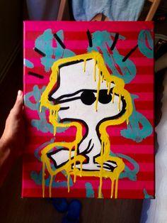 Goodstock Tamaño: 30x40 cm Técnica: pintura en aerosol + acrílicos Soporte: Lienzo (preparación universal)