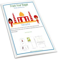 Pack Your Bags! And follow me to India Lapbook - Enchanted Homeschooling Mom
