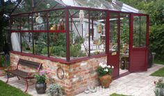 Mur Cold Frame, She Sheds, Compact Living, Glass House, Growing Vegetables, Conservatory, Pergola, Exterior, Flowers