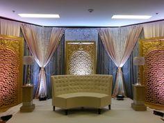 South Asian Wedding decor Big Fat Indian Wedding, South Asian Wedding, Indian Wedding Decorations, Indian Weddings, Tamil Wedding, Draping, Toronto, Backdrops, Fashion Show
