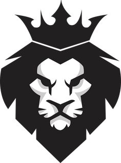 Black lion king PNG and Vector T Shirt Art, Lion Vector, Vector Art, Vector File, Svg File, Leon Logo, Logo Lion, Logo D'art, Logo Inspiration