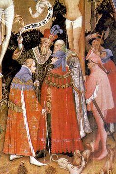 The Crucifixion 1404 or 1414 Konrad von Soest