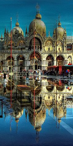 Reflection - Piazza San Marco, Venice