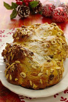 Cinco Quartos de Laranja: Vamos fazer pão: Trança doce de Natal com frutos secos