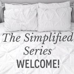 The Simplified Series Yellow Doors, Welcome, Organize, Organization, Writing, Simple, Getting Organized, Organisation, Tejidos