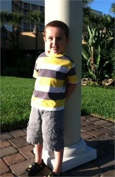 Caleb Fornal was an active four year old boy who loved playing soccer and golf until a sports injury led to the detection of Acute Lymphoblastic Leukemia. Please consider reading about Caleb's continuous fight and donating to his fundraiser that supports finding a cure for childhood cancer research.