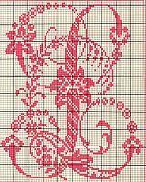 Ancient old cross stitch alphabet (11)