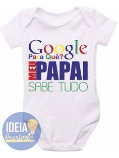 Body Infantil - Papai Sabe Tudo Boss Baby, Family Shirts, Pregnancy, Baby Boy, T Shirt, Clothes, Women, Fashion, Funny Clothes