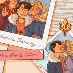 Percy Jackson Annabeth Chase, Percy Jackson Ships, Percy Jackson Fan Art, Percy And Annabeth, Percy Jackson Memes, Percy Jackson Books, Percy Jackson Fandom, Rick Riordan Series, Rick Riordan Books