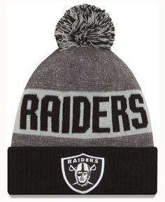 New Era Oakland Raiders Sport Knit