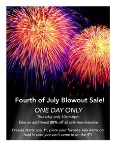 4th of july sales orlando