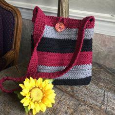 Super crochet bag and purses handbags ideas ideas Crochet Cup Cozy, Crochet Tote, Crochet Purses, Shopping Totes, Market Bag, Shoulder Purse, Shoulder Strap, Etsy Handmade, Handmade Crafts