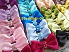 Sateen Bows #bow #sateen #brooch #pin #hijab #muslimfashion