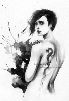 The Girl with the Dragon Tattoo by Achen089 on DeviantArt