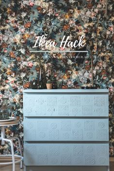 Most recent Absolutely Free Malm hack! Make boho furniture yourself with textured paste Ideas In several dormitories Ikea rooms are happy to be observed, as they provide numerous solutions for a Malm Hack, Hack Ikea, Old Picture Frames, Old Frames, Bedroom Murals, Ikea Bedroom, Recycled Furniture, Modern Furniture, Luxury Furniture