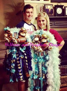 Matching mum and garter