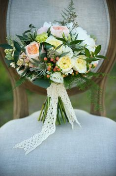 Flowers by Janie Country Wedding Bouquets, Bridal Bouquets, Floral Wedding, Wedding Flowers, Floral Design, Garden Roses, Table Decorations, Bride, Calgary