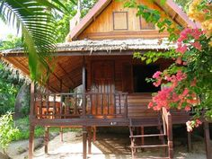 A bungalow on the beach in Thailand beckons me.