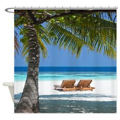 Dockweiler Beach Shower Curtain By JanetAnteparaDesigns On Etsy 6500