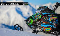"""Sledwraps // """"WRAP IT BEFORE YOU RIDE IT!""""® - custom snowmobile graphics, sled graphics, seat covers, number plate decals, Ski-doo, Arctic Cat, Yamaha, Polaris"""