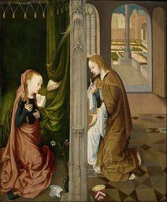 Annunciazione Master of the Virgin Tra Virgins, Virgo inter Virgines - The Annunciation Museo Boijmans Van Beuningen , Rotterdam