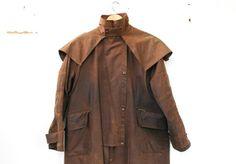Vintage Mantel Reiten / / Long Outback Jacke von brotherxiivintage