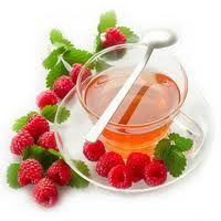 Easy to make Sage and Raspberry Leaf Tea for Hot Flashes and Night Sweats.