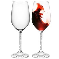 Personalized Logo Engraved 15oz Set Of 2 Full Of Crystal Diamond Stem Red Wine Glass Gift Goblet Set For Weeding Gift - Buy Personalized Logo Engraved Red Wine Glass,Wedding Wine Glass Set,Wedding Goblet Product on Alibaba.com Red Wine Glasses, Crystal Wine Glasses, Stemless Wine Glasses, Crystal Pen, Crystal Gifts, Crystal Diamond, Wine Glass Set, Wedding Glasses, Glass Material