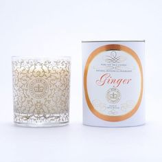 Kew Gardens Pure Soy Wax Glass Candle | Ginger | Beaumonde – Beaumonde ®
