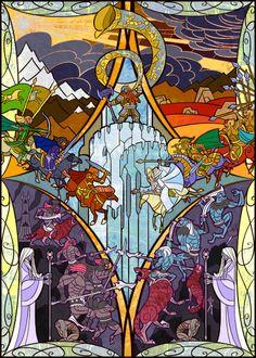 the horn of King Helm sounded by breathing2004.deviantart.com on @deviantART