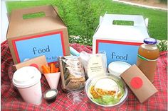 Our Ideas :: We're Going on a Picnic - garnish - Package Life's Moments