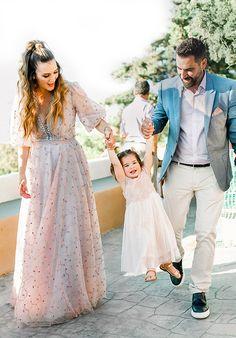 Παραμυθένια κοριτσίστικη βάπτιση με θέμα floral blossom - EverAfter Girls Dresses, Flower Girl Dresses, Half Updo, Fairy Tales, Tulle, Girly, Hairstyle, Baby Ideas, Wedding Dresses