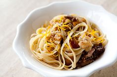 Pasta with Slow Roasted Duck