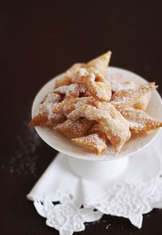 Polish Tradition: Faworki are deep-fried sweet pastries, which are often eaten on Fat Tuesday in Poland.