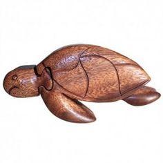 Bali Puzzle Box - Sea Turtle