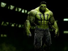 Hulk: If Superheroes Were Sponsored & Branded by Major Corporations