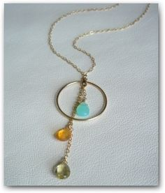 Birthstone Mommy necklace updated.-- great grandma gift