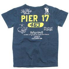 OFFICIAL TEAM(オフィシャルチーム):MARINE PORT Tシャツ ネイビー の通販【ブランド子供服のミリバール】