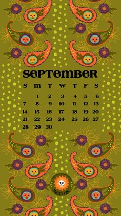 Free September Download for your smartphone and desktop! www.skellychic.com