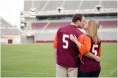 A Virginia Tech Engagement // Andrea Pesce Photography