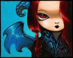 Art: Evie Drakonette by Artist Nico Niemi