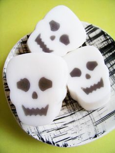 Skeleton Face Soap Bar